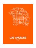 Los Angeles Street Map Orange