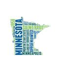Minnesota Word Cloud Map