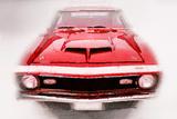 1968 Chevy Camaro Front End Watercolor