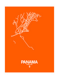 Panama Street Map Orange