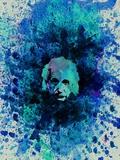 Einstein Watercolor 2