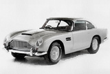 1964 Aston Martin DB5 Watercolor