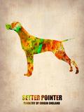 Setter Pointer Poster