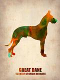 Great Dane Poster