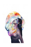 Apnea Reproduction d'art par Agnes Cecile
