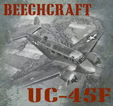 Beechcraft UC-45F Vintage Airplane