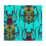 Flower Beetle Turquoise