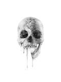 Crystal Skull Reproduction d'art par Alexis Marcou