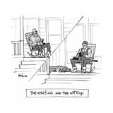 The @Hatfields and the @McCoys - Cartoon