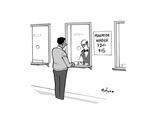 Minimum Wager - Cartoon