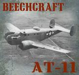 Beechcraft AT-11 Vintage Airplane