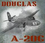 Douglas A-20G Vintage Airplane
