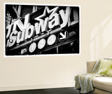 Subway and City Art - Subway Sign