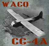 Waco CG-4A Vintage Airplane