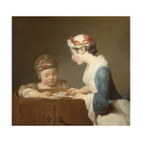 The Young Schoolmistress  1740