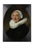 Portrait of Haesje Jacobsdr Van Cleyburg  1634