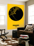 Panama Street Map Yellow