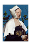 Lady with a Squirrel and a Starling  C1526-28