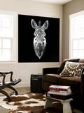 Black Zebra Head