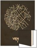 Vienna Street Map Black