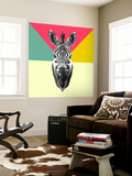 Party Zebra Head