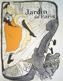 Jane Avril  Jardin De Paris