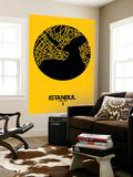 Istanbul Street Map Yellow