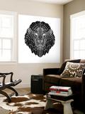 Lion Head Black Mesh 2