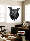 Black Owl Head Mesh