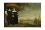 A Senior Merchant of the Dutch East India Company Jacob Mathieusen and His Wife  C1640-60