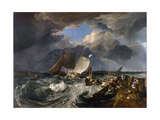 Calais Pier: an English Packet Arriving  C1802
