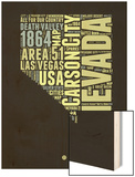 Nevada Word Cloud 1