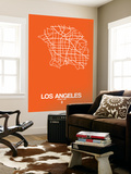 Los Angeles Street Map Orange