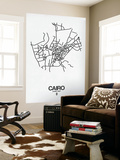 Cairo Street Map White