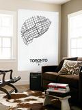 Toronto Street Map White