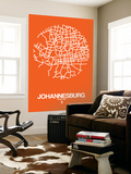 Johannesburg Street Map Orange
