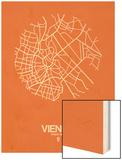 Vienna Street Map Orange