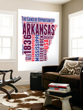 Arkansas Word Cloud Map