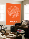 Bangkok Street Map Orange