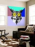 Owl in Yellow Glasses