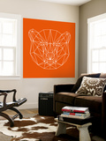 Orange Bear Polygon