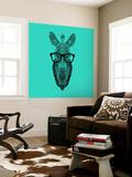 Zebra in Glasses