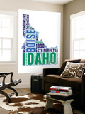 Idaho Word Cloud Map