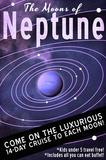 Neptune Retro Space Travel Reproduction d'art par Lynx Art Collection