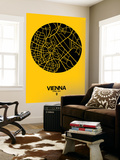 Vienna Street Map Yellow