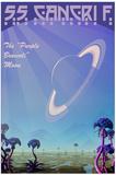 55 Cancri F Space Travel