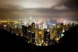 Hong Kong  China: Hong Kong Skyscrapers from High Above