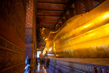 Bangkok  Thailand: the Giant Reclining Buddha at the Wat Pho Temple in Thailand