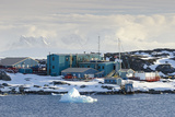 American Research and Science Base of Palmer Station on Anvers Island on the Antarctic Peninsula