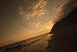 Sunset at Arroyo Burro Beach